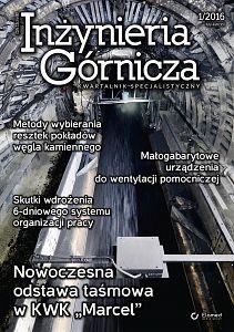 Inżynieria Górnicza wydanie nr 1/2016