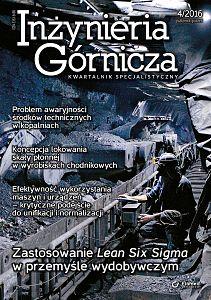 Inżynieria Górnicza wydanie nr 4/2016