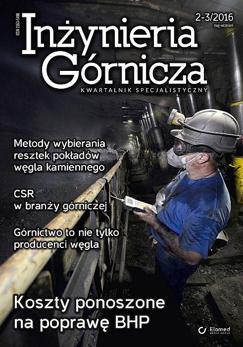 Inżynieria Górnicza wydanie nr 2-3/2016