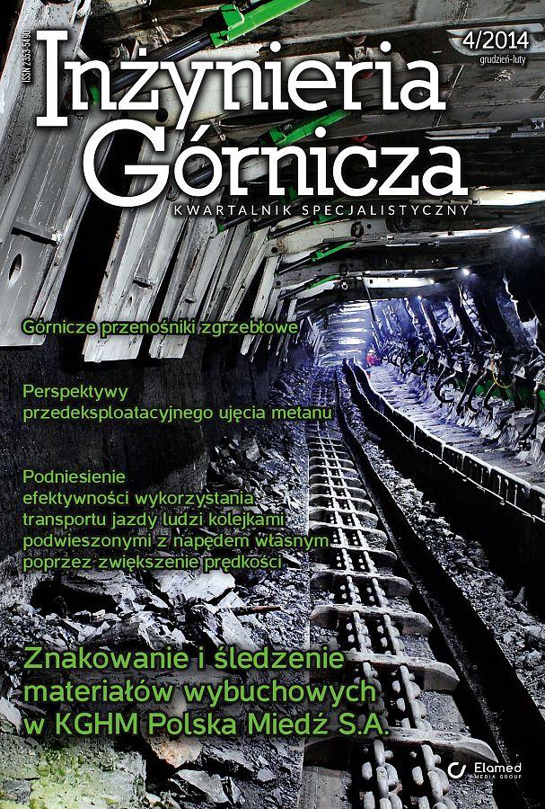 Inżynieria Górnicza wydanie nr 4/2014