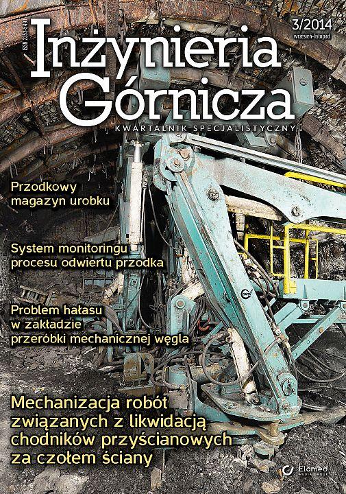 Inżynieria Górnicza wydanie nr 3/2014