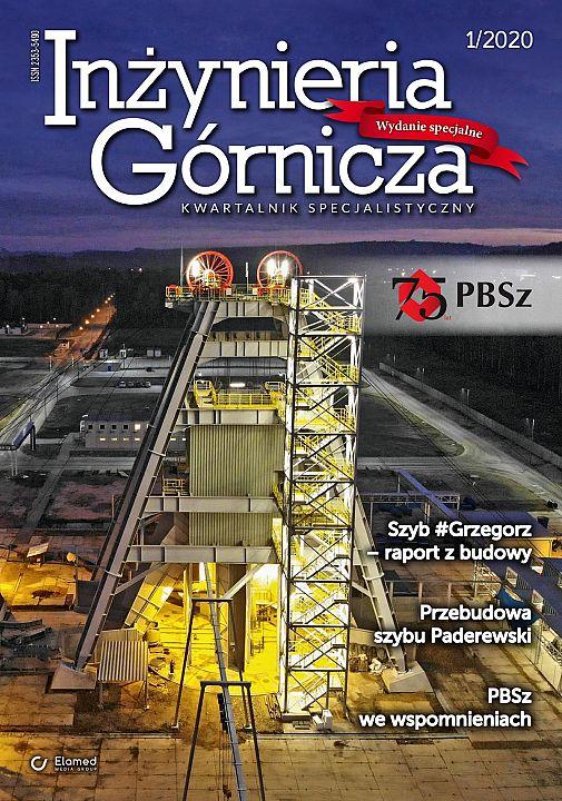 Inżynieria Górnicza wydanie nr 1/2020